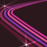 Rétro fond de disco illustration libre de droits