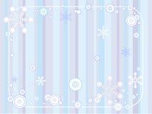 Rétro fond de l'hiver Illustration Libre de Droits