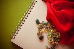 Rétro fond de Red&green Photographie stock