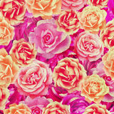 Rétro fond de roses Photographie stock libre de droits