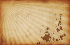 Rétro fond de starburst de style Images stock