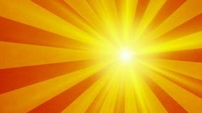 Rétro fond de vintage du soleil illustration de vecteur