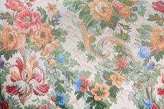 Rétro fond floral de texture de vecteur Photos stock