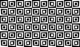 Rétro fond géométrique de modèle noir et blanc illustration stock