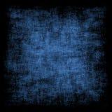 Rétro fond grunge bleu Photographie stock libre de droits