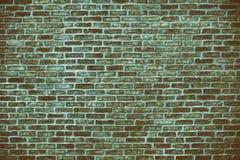 Rétro fond grunge de mur de briques bleu Photo stock