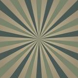 Rétro fond grunge fané de lumière du soleil fond sale d'éclat de couleur grise et verte Illustration de vecteur Photos libres de droits
