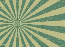 Rétro fond grunge fané de lumière du soleil fond vert et beige d'éclat de couleur Photo stock
