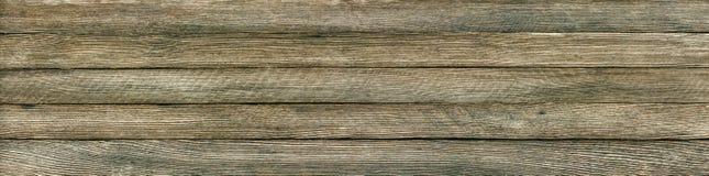 Rétro fond grunge panoramique des planches en bois photo libre de droits
