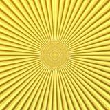 Rétro fond jaune Photo libre de droits