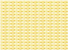 Rétro fond orange illustration libre de droits