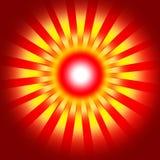 Rétro fond rouge Photo libre de droits