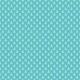 Rétro fond stylisé sans couture bleu-clair de modèle de forêt de pin - dirigez le graphique de décoration de Noël Photo stock