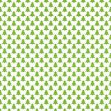 Rétro fond stylisé sans couture de modèle de forêt de pin - dirigez le graphique de décoration de Noël Photos libres de droits