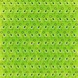 Rétro fond vert de cercles Image libre de droits