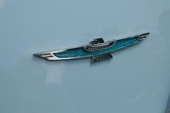 Rétro Ford Thunderbird Emblem Images libres de droits