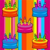 Rétro gâteaux géniaux Images libres de droits