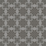 Rétro Grey Seamless Pattern décoratif Photographie stock