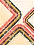 Rétro grunge illustration de vecteur
