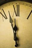 Rétro horloge Photographie stock