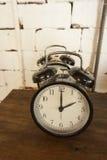 Rétro horloge Images libres de droits