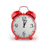 Rétro horloge d'alarme Images stock