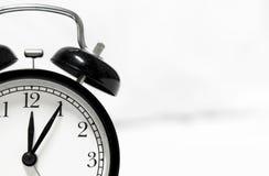 Rétro horloge d'alarme de type Images stock