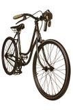 Rétro image dénommée d'une bicyclette du 19ème siècle Photo stock
