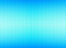 Rétro image tramée bleue comique de gradient de trame de fond de point, actions illustration de vecteur