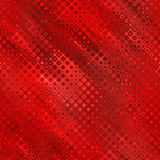 Rétro image tramée soyeuse rouge Photographie stock libre de droits