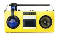Rétro jaune de sableuse de ghetto photographie stock