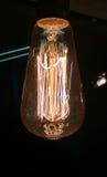 Rétro lampe d'Edison Photographie stock