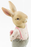 Rétro lapin de mâle de Pâques Photographie stock