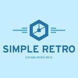 Rétro Logo Template simple Photo stock