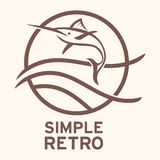 Rétro Logo Template simple Photo libre de droits