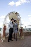 Rétro mariage Images stock