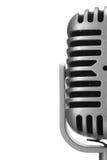 Rétro microphone photo stock