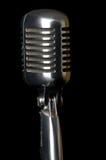 Rétro microphone Photo libre de droits