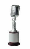 Rétro microphone Image stock