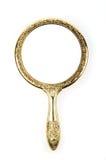 Rétro miroir antique Photo libre de droits
