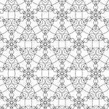 Rétro modèle de sacrum primitifs de geometria avec des lignes et des cercles Photo libre de droits