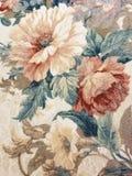 Rétro modèle floral de tapisserie d'ameublement Photographie stock libre de droits