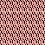Rétro modèle géométrique abstrait sans couture illustration libre de droits