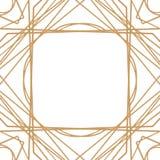 Rétro modèle, partie de cru Grande bannière ou carte postale de style de Gatsby illustration stock