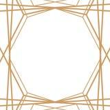 Rétro modèle, partie de cru Grande bannière ou carte postale de style de Gatsby illustration de vecteur
