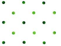 Rétro modèle sans couture avec des points de polka illustration libre de droits