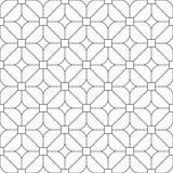 Rétro modèle simple géométrique sans couture de conception Images stock