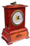 rétro montre en bois Images stock