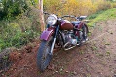 Rétro moto Image libre de droits