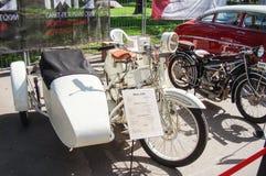 Rétro moto Mars A20 à l'exposition Photos libres de droits